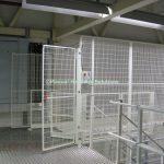 Mezzanine Goods Lift Enclosure