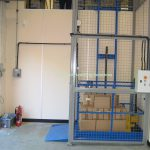 Mezzanine Goods Lift Enclosure Coventry