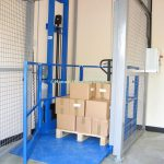 Mezzanine Goods Lift Platform Interlock Gate Coventry