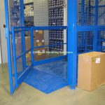 Mezzanine Goods Lift Ramp