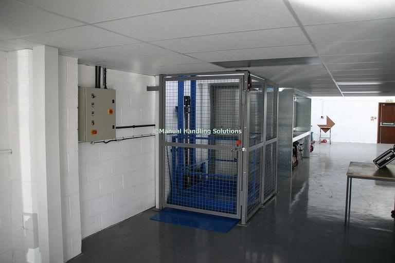 Mezzanine Goods Lift Spalding