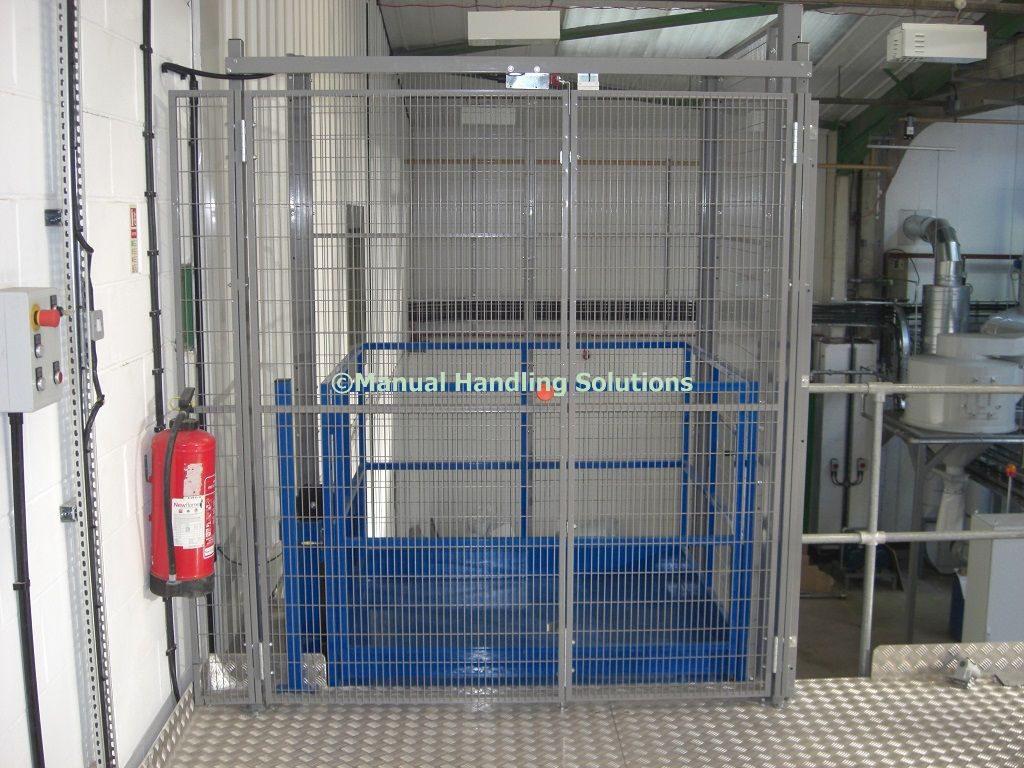 Mezzanine Goods Lifts Peterborough Cambridgeshire