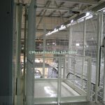 Platform Guarding Mezzanine Goods Lift Warwick