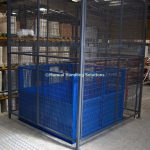 Fully Enclosed Mezzanine Goods Lift