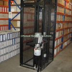 Hand Loaded Archive Storage Lift