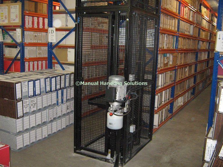 Waist Height Mezzanine Goods Lift Hampshire