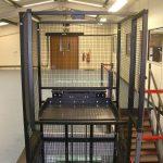 Waist Height Mezzanine Goods Lifts
