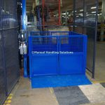 Infilled Platform Enclosure Mezzanine Goods Lift