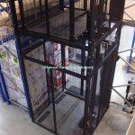 Mezzanine Goods Lift 3 Stop