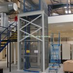 Mezzanine Goods Lift Additional Support Structure