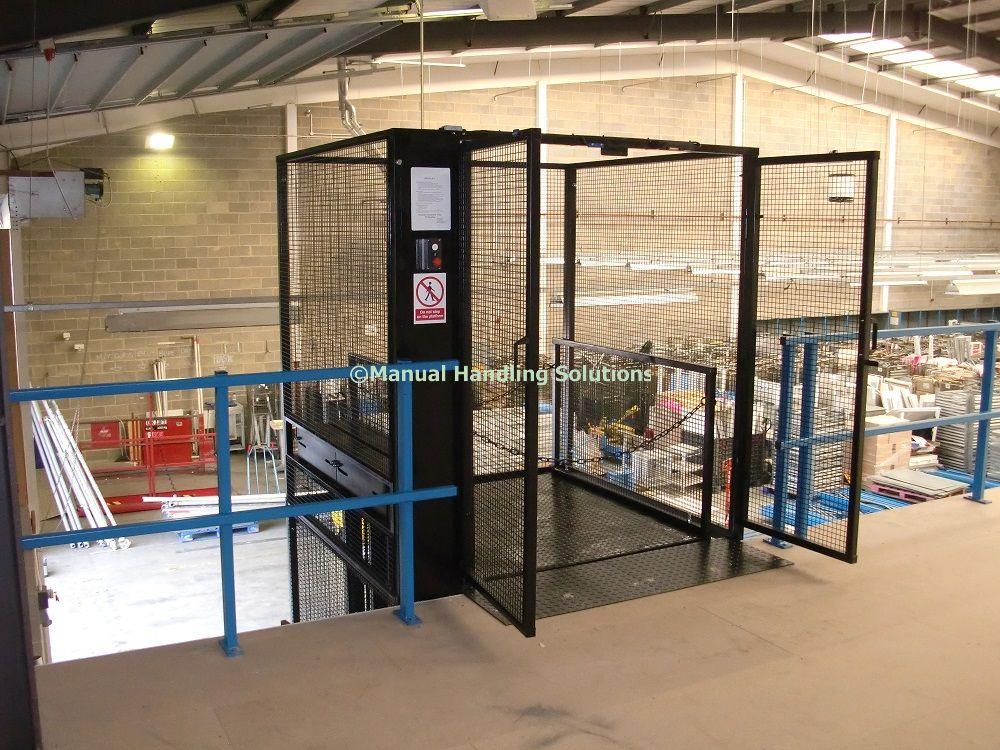 Mezzanine Goods Lifts Thurrock Essex