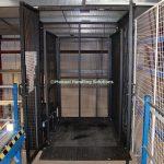 Mezzanine Goods Lift Distribution Trolley