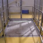 Mezzanine Goods Lift Stainless Steel Platform-Enclosure