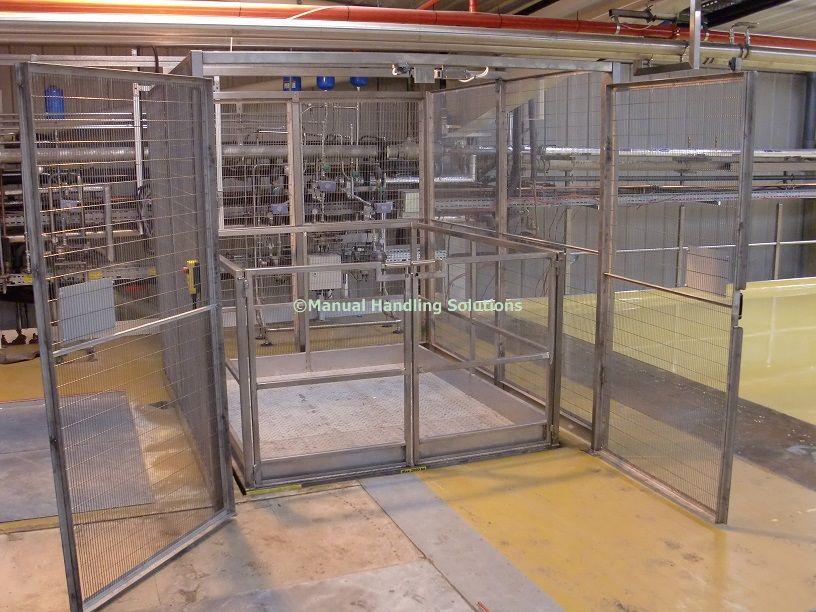 Manual Handling Solutions, Mezzanine Goods Lift, Scissor Lift Tables