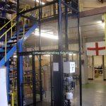Mezzanine Goods Lift Support Structure Wisbech
