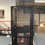 Mezzanine Goods Lift Waist Height