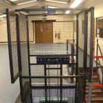 Waist Height Mezzanine Goods Lift