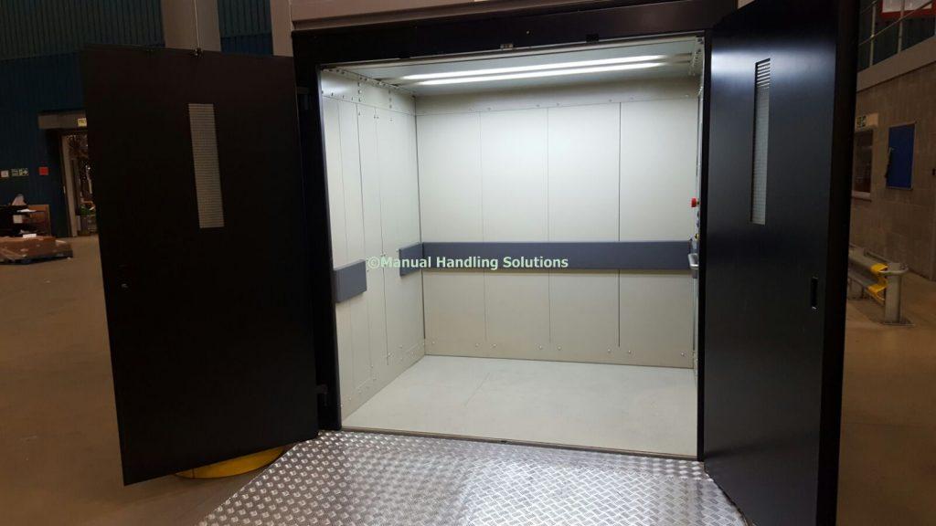 BOXLift Pro Mezzanine Goods Lift Trained Attendant