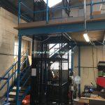 Handloaded Waist Height Mezzanine Goods Lift
