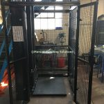 Handloaded Waist Height Mezzanine Goods Lifts
