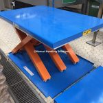 Low Profile Static Scissor Lift Tables Ramp