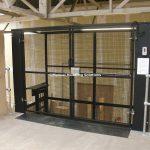 Mezzanine Goods Lift 2000mm High Gates Doncaster