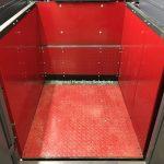 Mezzanine Goods Lift 3 Sided Enclosure