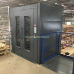 Mezzanine Goods Lift Clad Panels