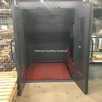 Mezzanine Goods Lift Cladded Lift Shaft