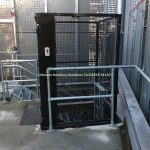 Mezzanine Goods Lift External