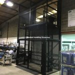 Mezzanine Goods Lift Malmesbury Wiltshire