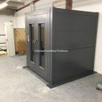 Mezzanine Goods Lift Through Floor