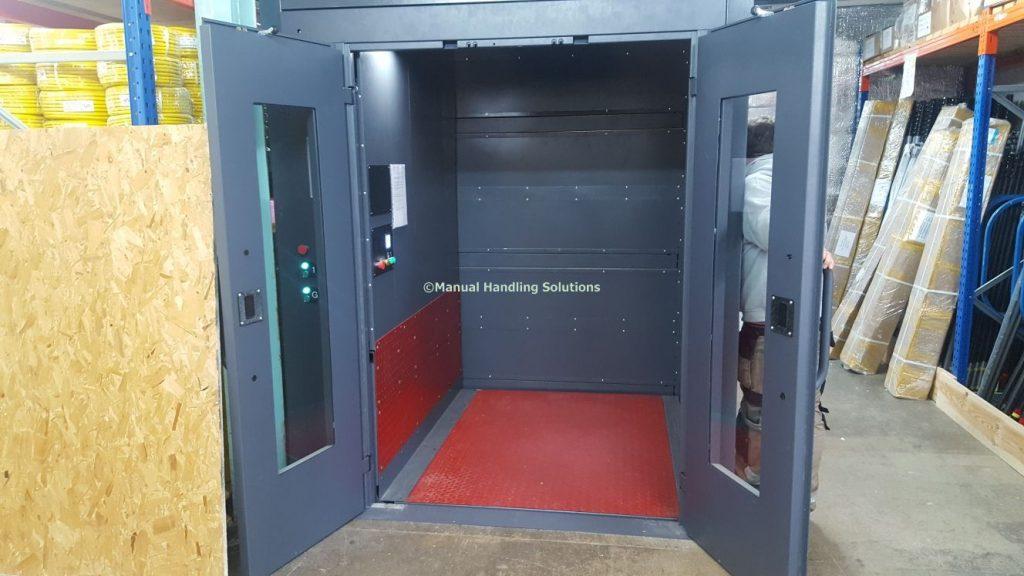 Mezzanine Goods Lift Trained Operator