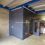 Mezzanine Goods Lifts Clad Panels Norfolk