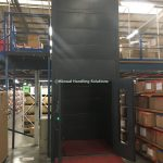 Mezzanine Goods Lifts Cladded