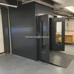 Mezzanine Goods Lifts Cladded Panels Cumbria