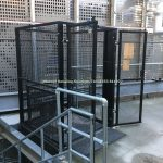 Mezzanine Goods Lifts External