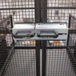 Mezzanine Goods Lifts Interlocking Gate Lock