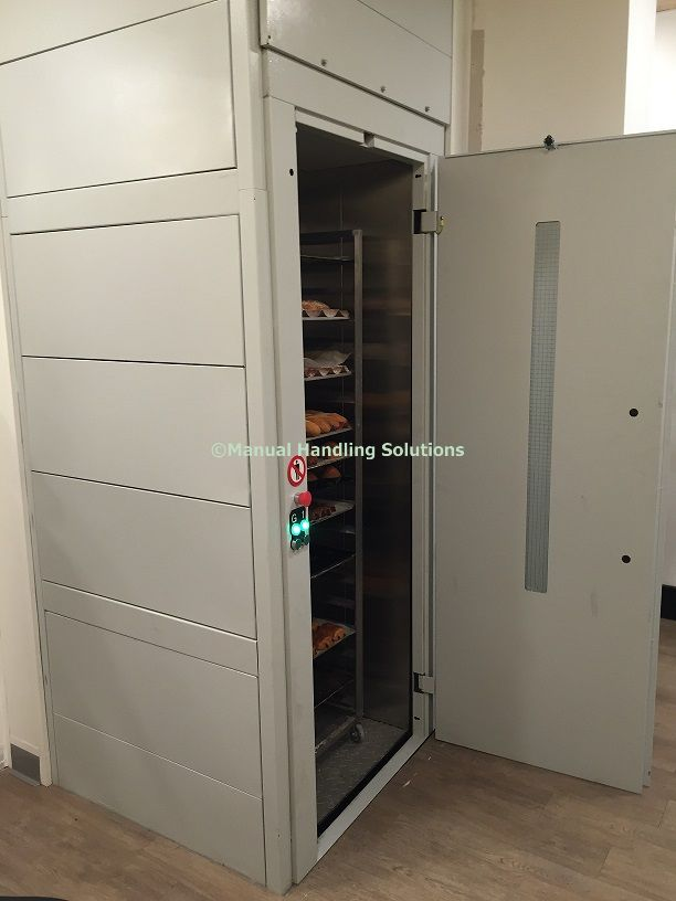 Mezzanine Goods Lift Bakery