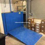 Split Level Industrial Warehouse External Goods Lifts