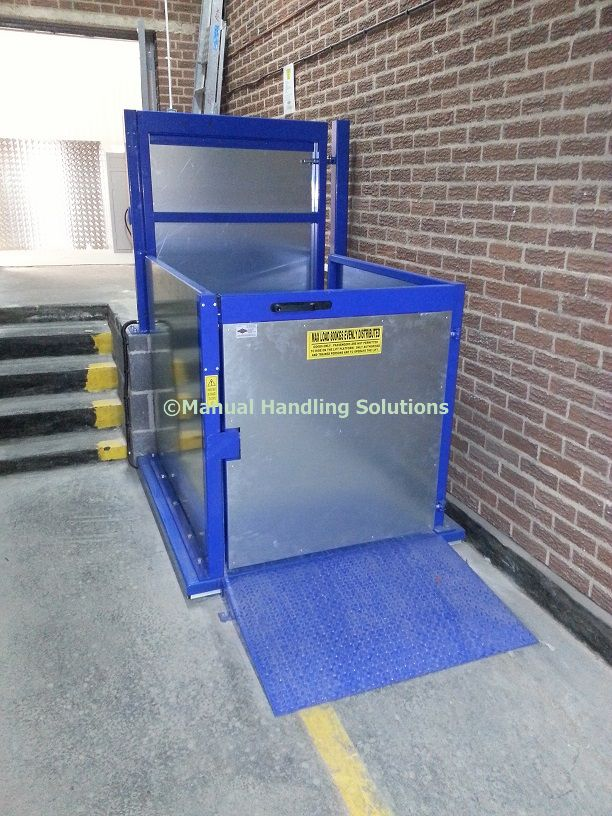 Split Level Goods Lifts