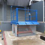 Static Scissor Lift Table Loading Bay