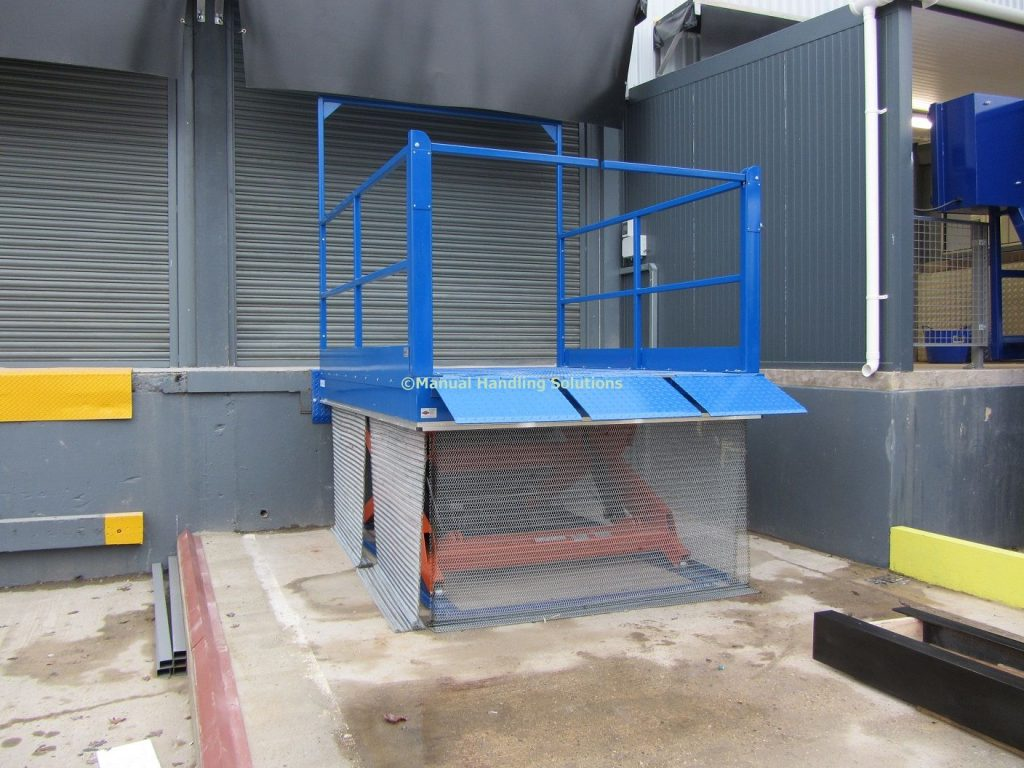 Loading Bay Lift Scissor Tables