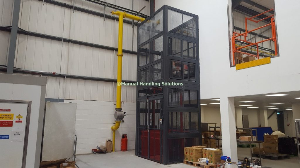 Mezzanine Goods Lifts in London