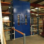 Mezzanine Floor Goods Lift MHS