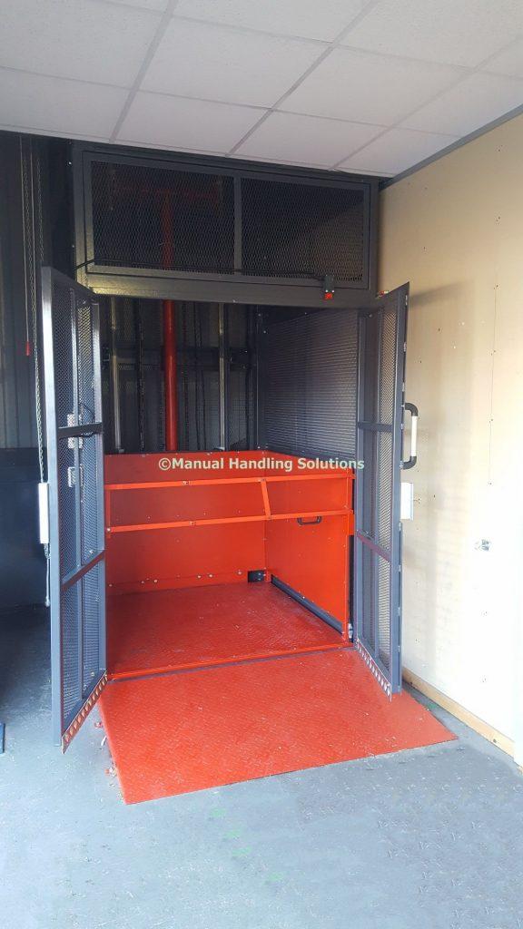 Mezzanine Goods Lift Sheffield