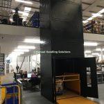 Mezzanine Floor Goods Lift UK London