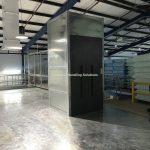 Mezzanine Floor Goods Lift Zinc