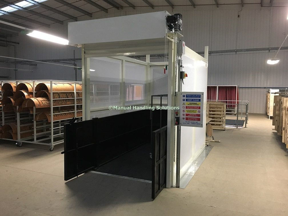 Mezzanine Goods Lift Chesterfield