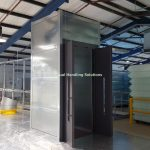 Mezzanine Goods Lift Zinc Enclosure